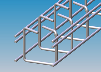 Cable trays standard lock